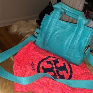Blue small Tory Burch Tote
